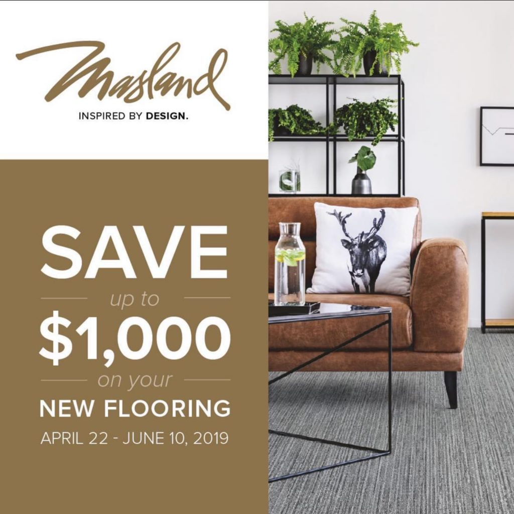 Masland Flooring Sale