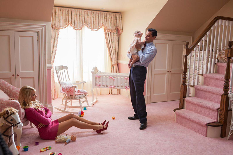 The Wolf Of Wall Street Nursery Scene