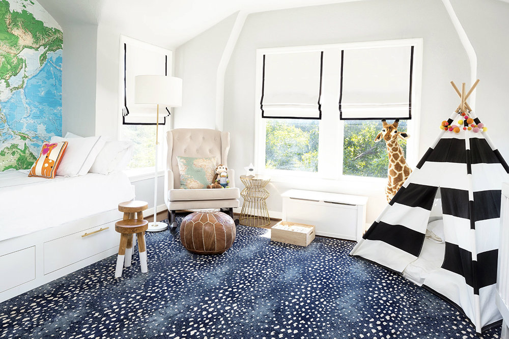 Deerfield Blue Design Kyle Knight Carpet Time Nyc
