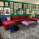 Ward 5 Design Zebra Print Carpet Animal Trend Report Carpet Time Nyc