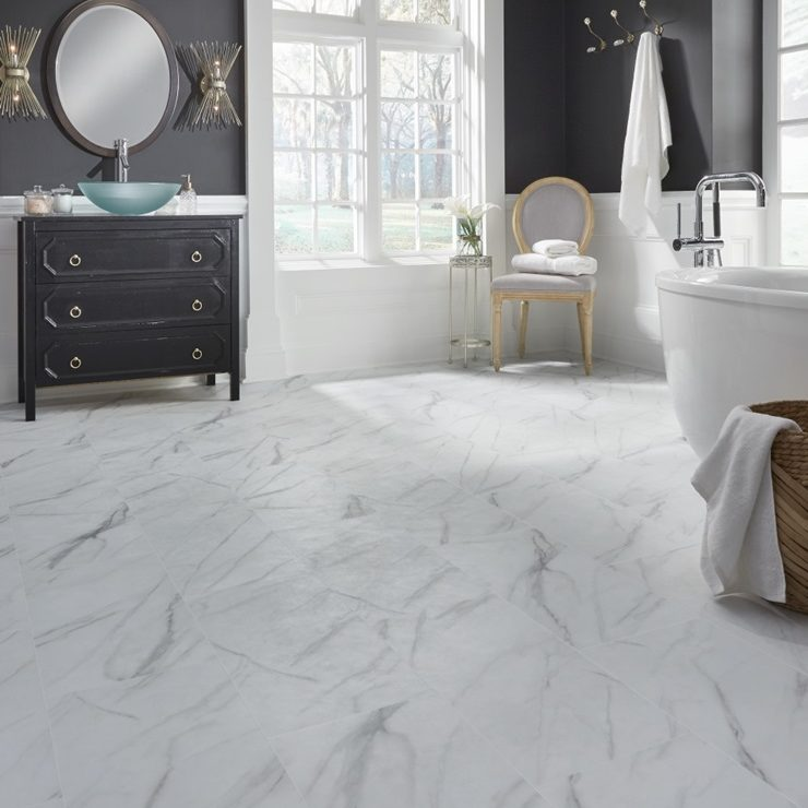 Adura Rigid Legacy White With Gray Rgr120 Room Scene