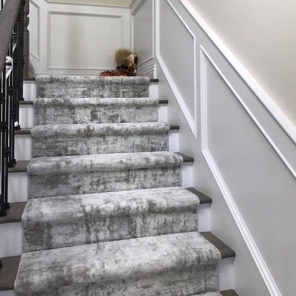 Stanton Carpet Oxford Street Iced Min Stair Runner