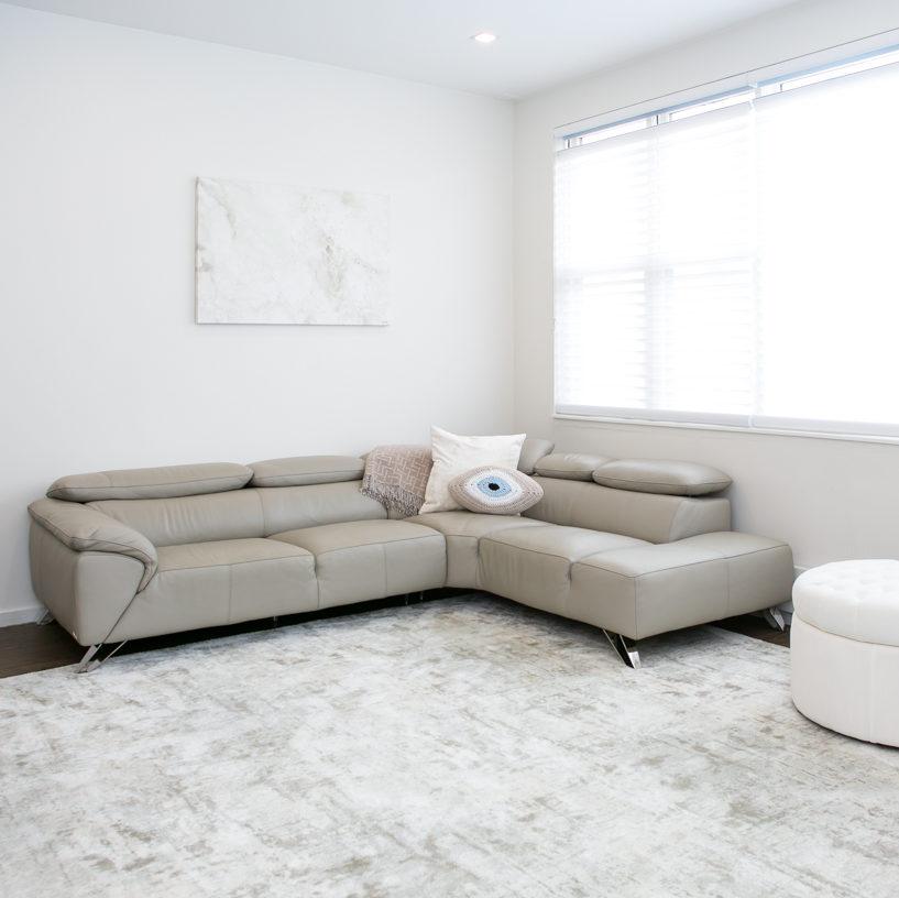 Stanton Carpet Oxford St Iced Mint Bound Rug Living Room