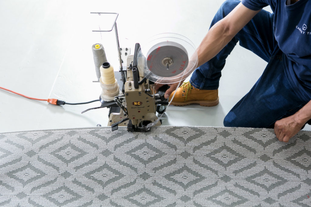 Custom Serged Helios Carpet Carpet Time Nyc Queens