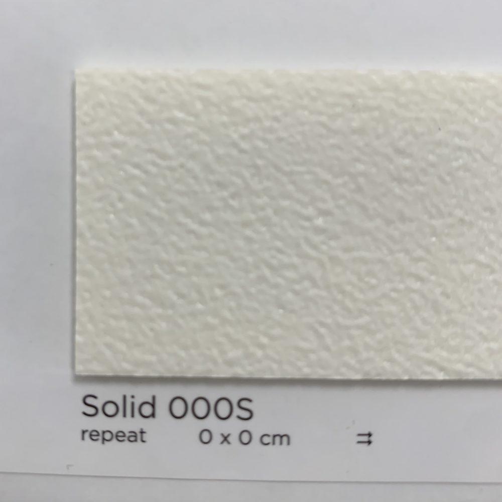 Solid White (Semi-Matte/Non Glossy) #000S