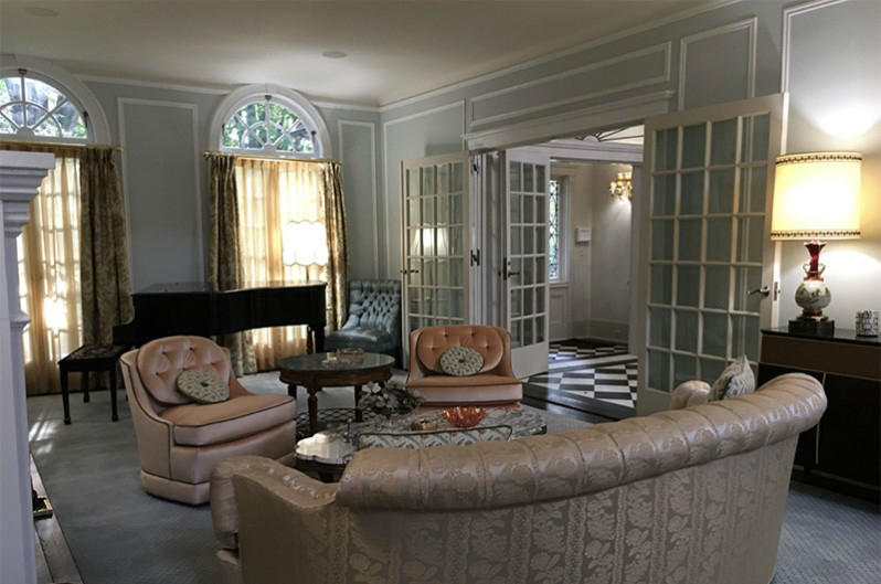 The Marvelous Mrs Maisel Set Decoration Carpet Time Nyc Living Room