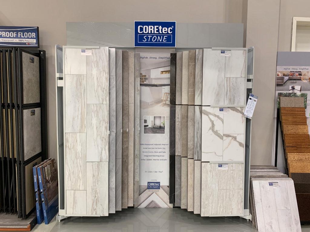Coretec Stone Display Carpet Time Nyc
