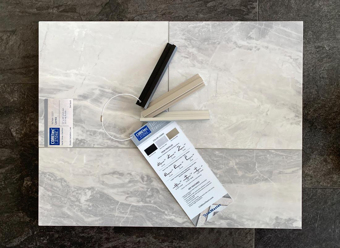 Coretec Stone Lorez Trim Samples Carpet Time Nyc 1