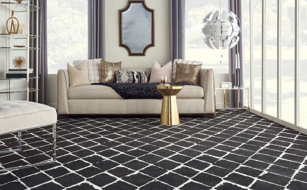 The Black and White Floor Edit