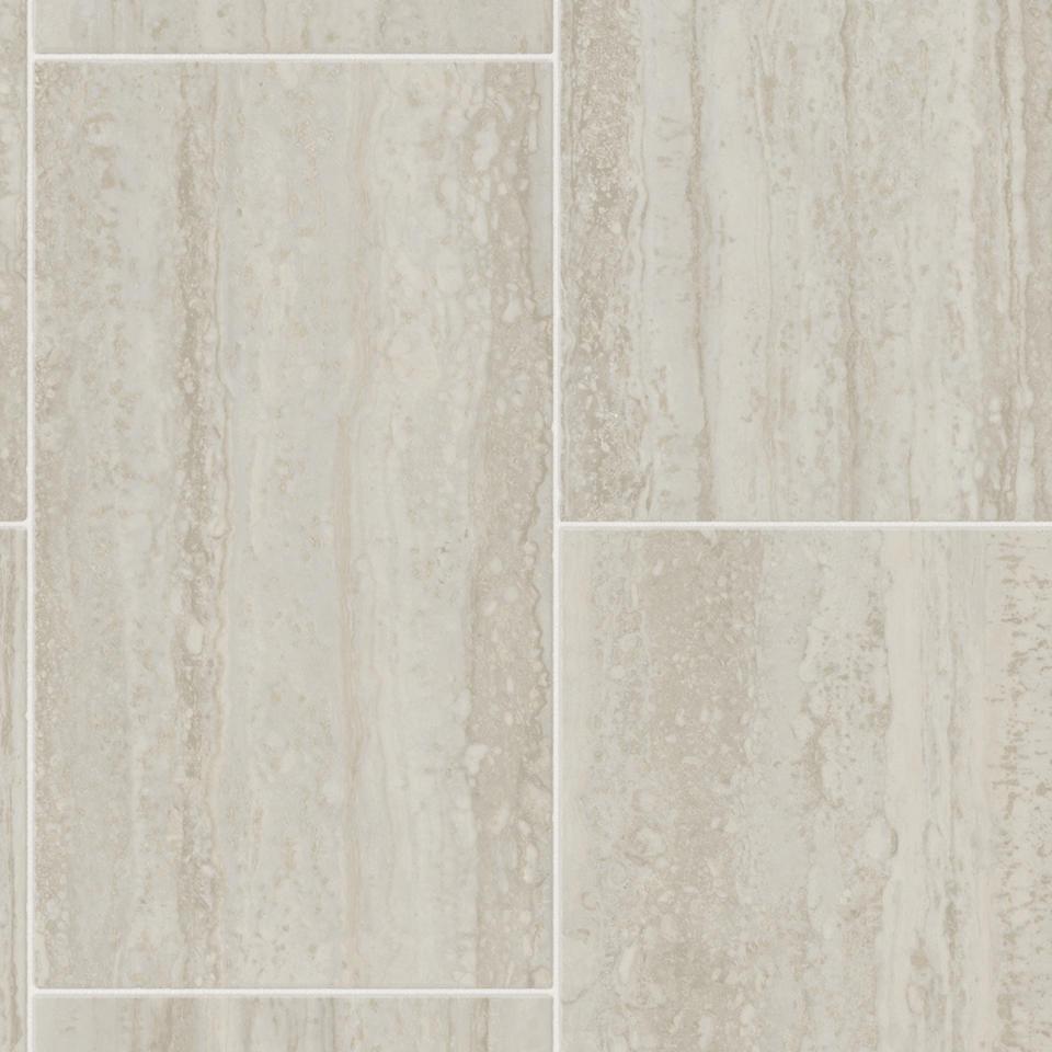 Tarkett Footnotes Travertine Tile Grey #58102